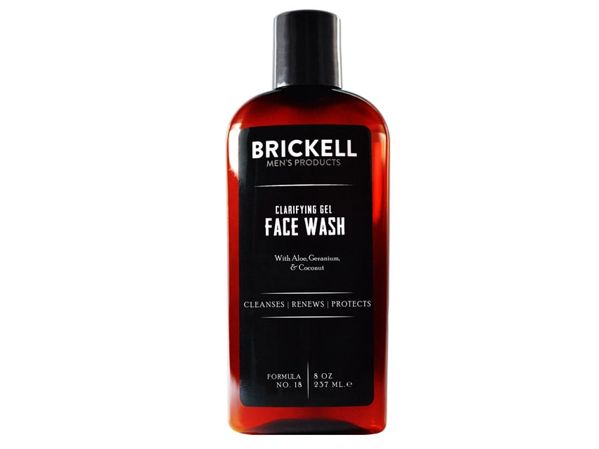 Brickell Gel Face Wash