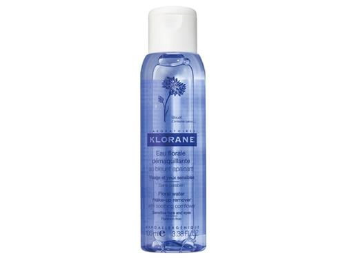 Klorane Floral Water Make-up Remover with Soothing Cornflower - 100 ml