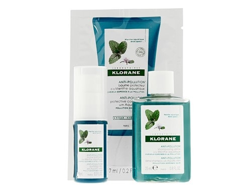 Free $5 Klorane Aquatic Mint 3 piece set