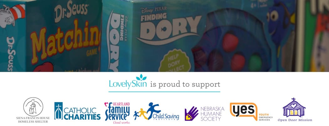 LovelySkin Gives Back 2016