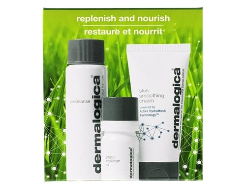 Free $50 Dermalogica Replenish and Nourish Trio
