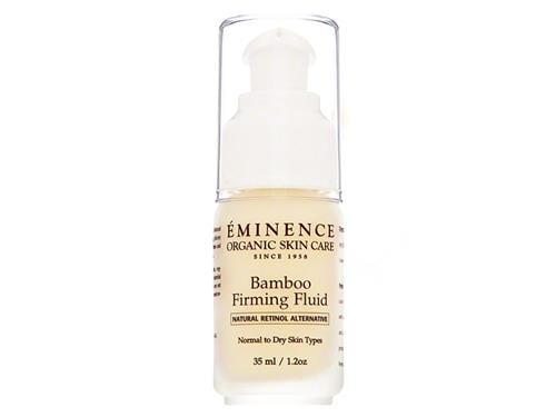 The Eminence Organics Bamboo Firming Fluid. Shop Eminence Organics at LovelySkin to receive free shipping, samples and exclusive offers.