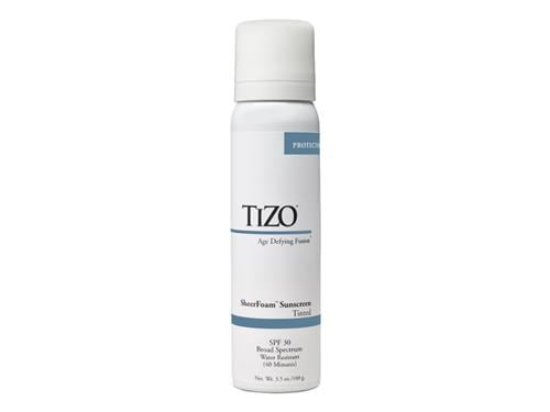 TiZO Sheerfoam Mineral Sunscreen SPF 30 - Tinted