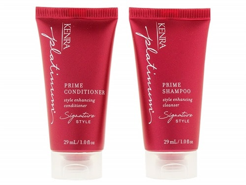 Free $5 Kenra Professional Platinum Prime Shampoo & Conditioner Travel Duo