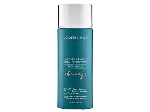 Colorescience Sunforgettable Total Protection Face Shield SPF 50 PA+++ - Bronze