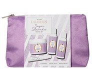 LALICIOUS Glow On The Go Travel Collection - Sugar Lavender