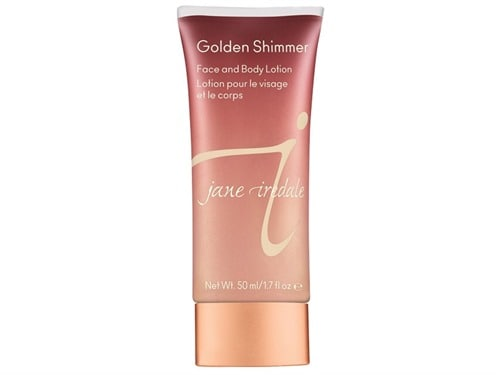Free $32 jane iredale Golden Shimmer Face and Body Lotion