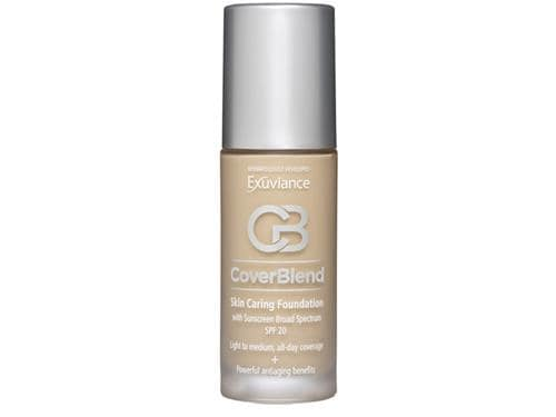 Exuviance CoverBlend Skin Caring Foundation SPF 20 - Honey Sand