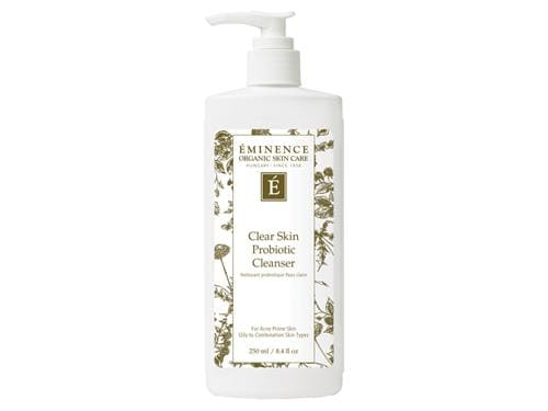 Balance your complexion with Eminence Organics Clear Skin Probiotic Cleanser. Shop Eminence at LovelySkin to receive free shipping and samples.