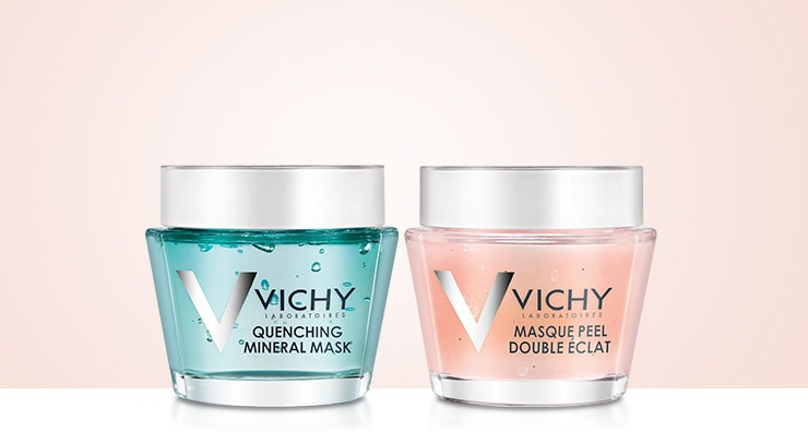 3 Ways to Indulge Your Skin with New Masks from Vichy