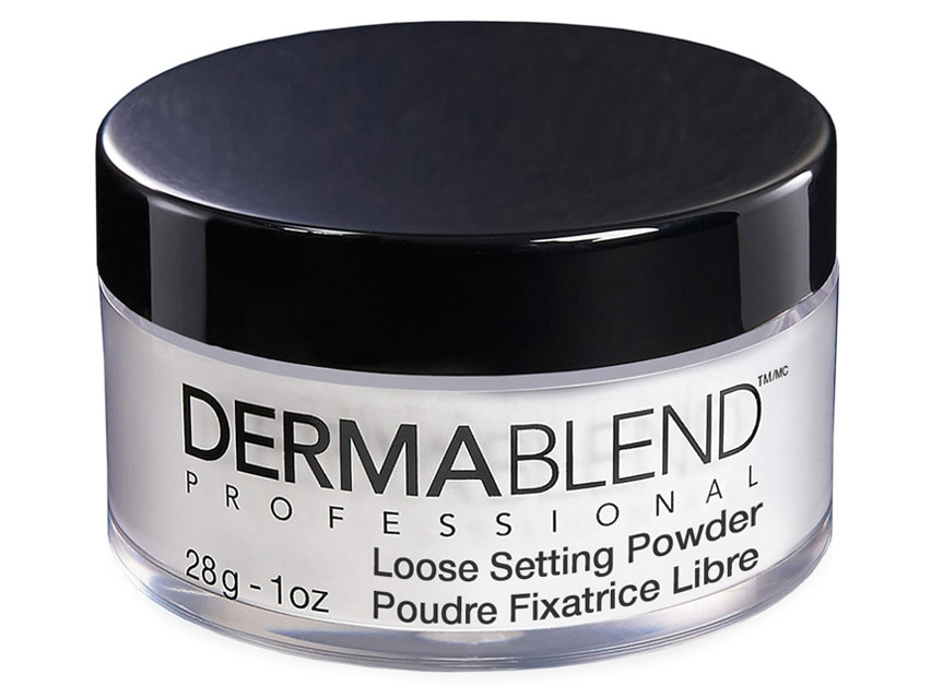 Dermablend Loose Setting Powder. Setting Powder. Face Makeup.