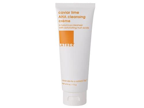 LATHER Caviar Lime Cleansing Creme