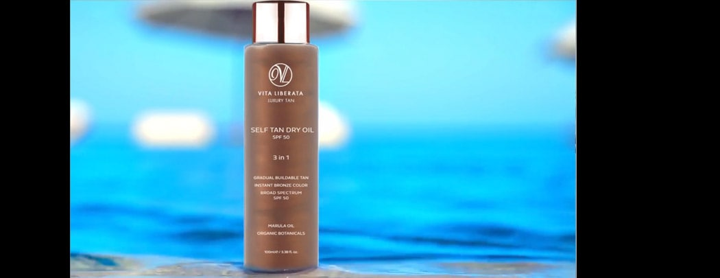All About Vita Liberata Self Tan Dry Oil SPF 50