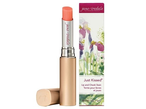 Free $28 jane iredale Just Kissed Lip and Cheek Stain - Forever Pink