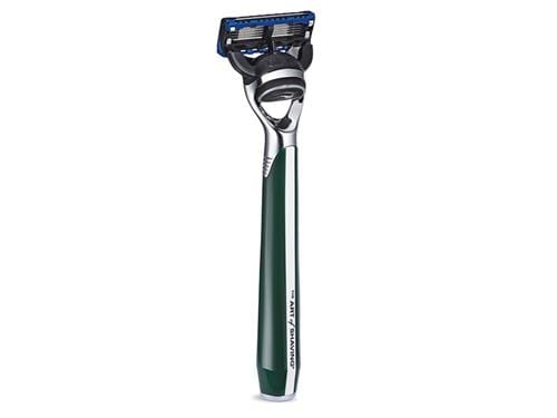 The Art of Shaving Morris Park Collection Fusion Razor - British Racing Green