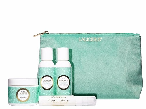 LALICIOUS Glow On The Go Travel Collection