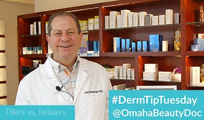 DermTipTuesday - Fillers vs. Relaxers
