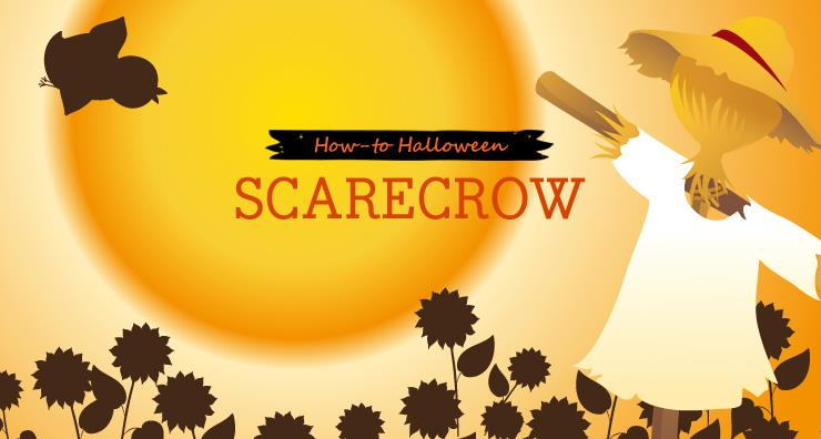 How-to Halloween: Scarecrow