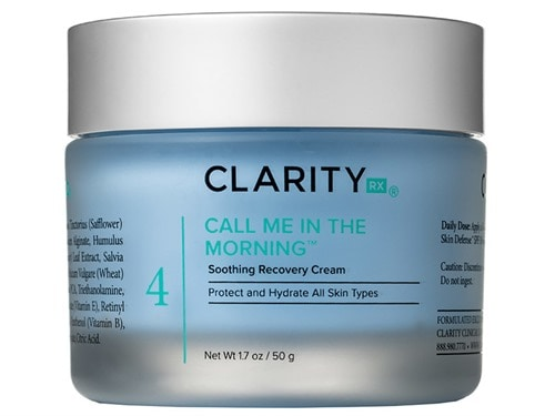 ClarityRx Call Me In The Morning Soothing Recovery Cream