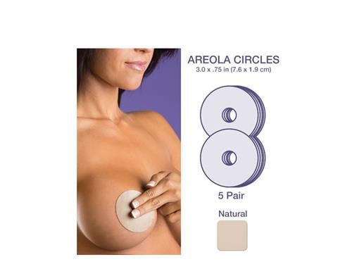Biodermis Epi-Derm Areola Circles 5-Pack - Natural