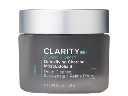 ClarityRx Down + Dirty Detoxifying Charcoal MicroExfoliant