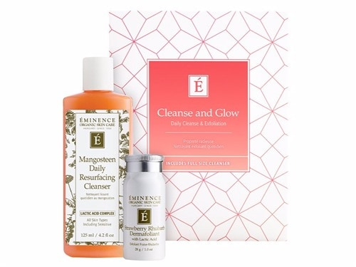 Eminence Organics Cleanse & Glow Duo - Limited Edition. Skin Care. Cleansers.