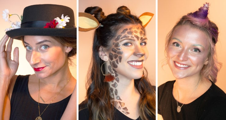 Halloween How-To: Three Glam Halloween Makeup Ideas