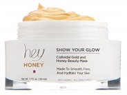 Hey Honey Show Your Glow Colloidal Gold and Honey Beauty Mask