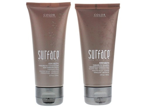 Free $25 Surface Awaken Therapeutic Shampoo & Conditioner Travel Duo