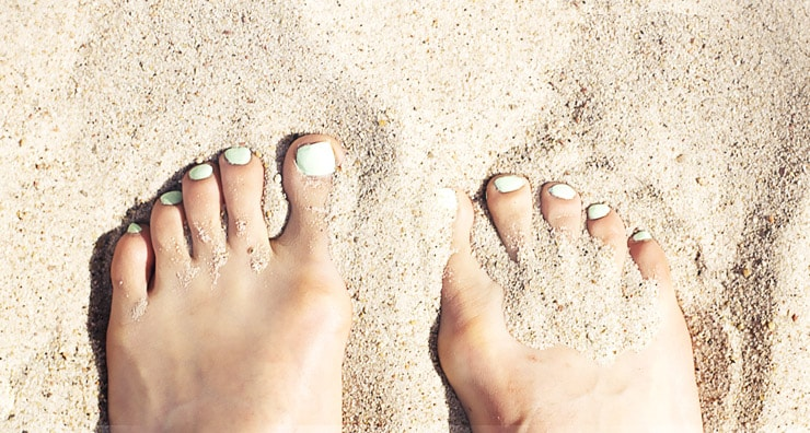 Beach-Ready Feet