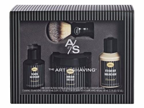 The Art of Shaving Full Size Kit with Synthetic Brush - Unscented