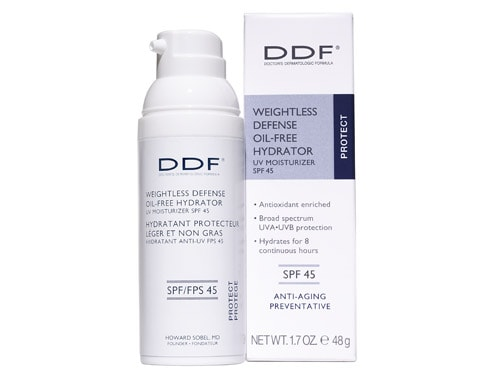 DDF Weightless Defense Oil-Free Hydrator SPF 45