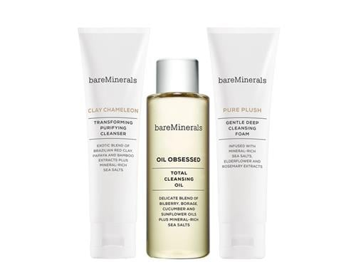 bareMinerals Good Clean Fun Limited Edition Cleanser Trio