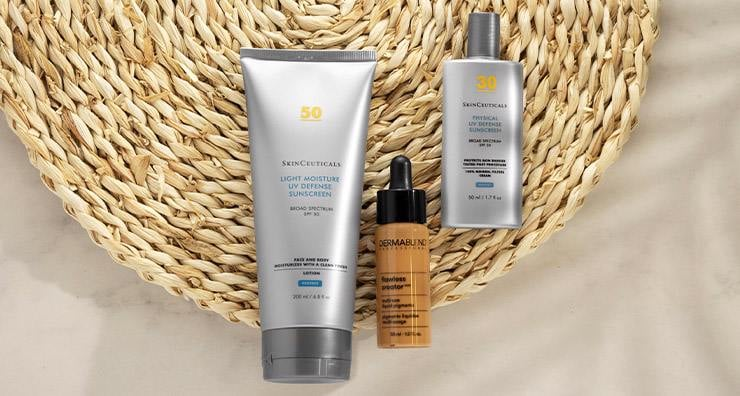 Shield Skin Against Blue Light with Dermablend and SkinCeuticals