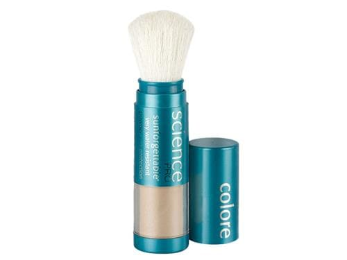 Colorescience Sunforgettable Mineral Sunscreen Brush SPF 30 - Medium (formerly Perfectly Clear)