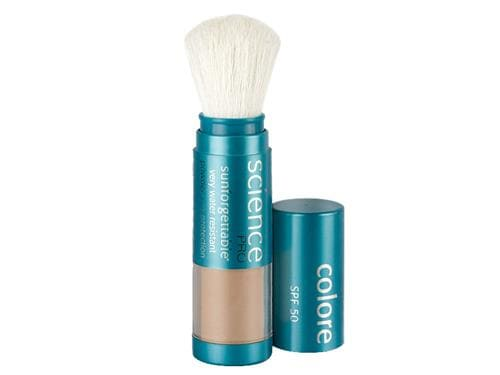 Colorescience Sunforgettable Mineral Sunscreen Brush SPF 50 - Tan (formerly Almost Clear)