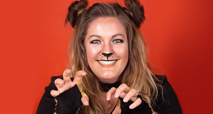 Halloween Makeup Tutorial: Lion