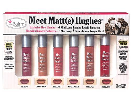 theBalm Meet Matte Hughes - Limited Edition Kit