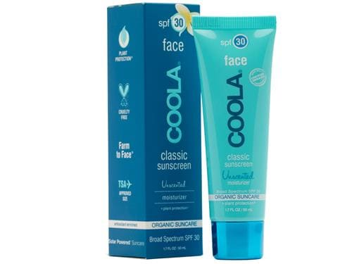 COOLA Moisturizing Face SPF 30 Organic Sunscreen Lotion - Unscented
