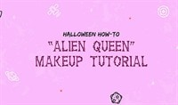 Halloween How-To: Alien Queen Makeup Tutorial