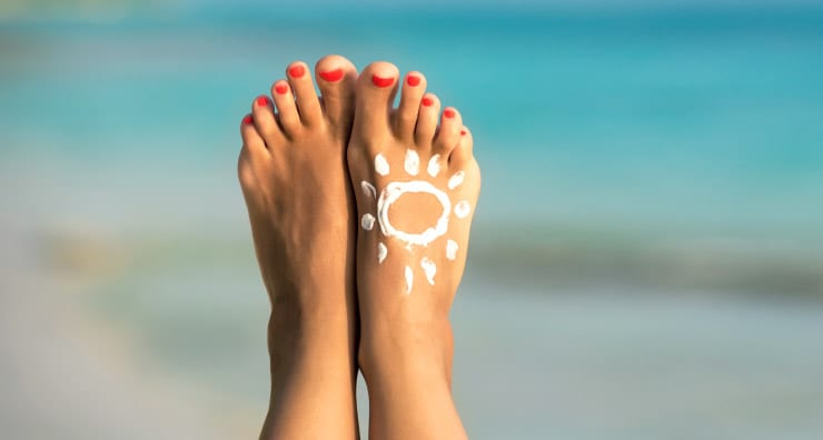 5 Places You Need to Apply Sunscreen (But Probably Don't)