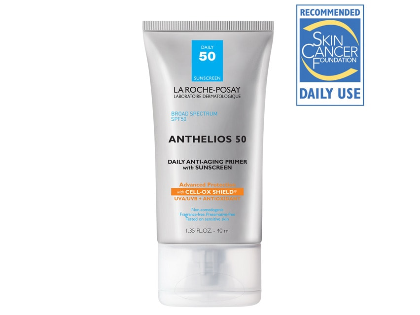 La Roche-Posay Anthelios 50 Daily Anti-Aging Primer with Sunscreen. What Does Primer Do.