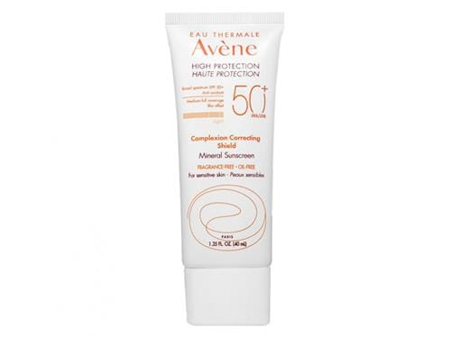 Avene High Protection Complexion Correcting Shield SPF 50+ - Light