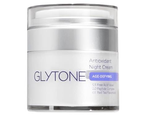 Glytone Antioxidant Renew Anti-Aging Night Cream, an antioxidant moisturizer