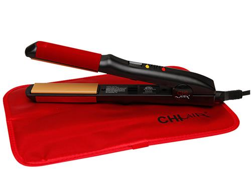 CHI AIR TURBO Digital Microchip Ceramic Flat Hairstyling Iron 1""
