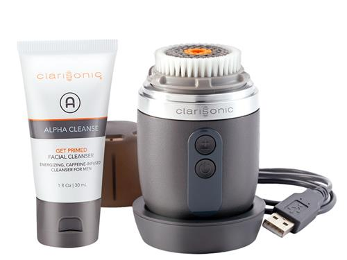 Clarisonic Alpha Fit Sonic Cleansing System for Men. Shop Clarisonic for men at LovelySkin to receive free shipping, samples and exclusive offers.