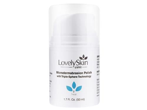 LovelySkin LUXE Microdermabrasion Polish with Triple Sphere Technology