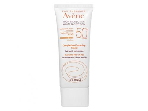 Avene High Protection Complexion Correcting Shield SPF 50+ - Medium