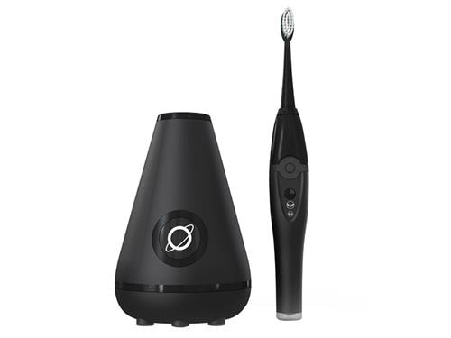 TAO Clean Aura Clean System - Sonic Toothbrush & Cleaning Station - Black