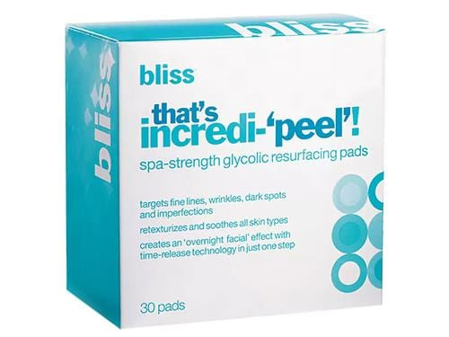 Bliss That's Incredi-Peel!, an exfoliating bliss peel
